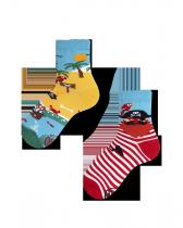 Pirate Island - Ponožky Pro Děti - Many Mornings