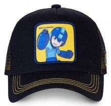Megaman Black - Kšiltovka Capslab