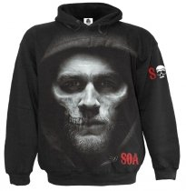 Jax Skull - Sons of Anarchy - Mikina - Spiral