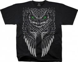 Owl Black - Liquid Blue