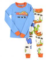 Boys Dino-Snore - Pyžamo dětské dlouhý rukáv – LazyOne