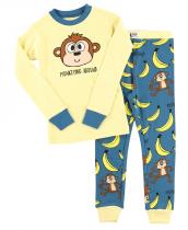 Monkeying Around - Pyžamo dětské dlouhý rukáv – LazyOne