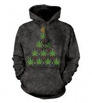 Christmas Cannabis - Mikina The Mountain