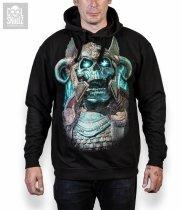 Viking Ragnarok Skull - Mikina Cool Skullz