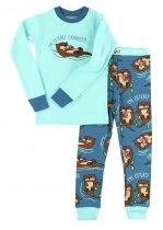 Otterley Exhausted - Pyžamo dětské dlouhý rukáv – LazyOne