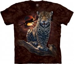 Blood Moon Leopard - The Mountain