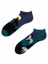 Vlk - Krátké Ponožky Good Mood