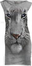 White Tiger Face - Šaty The Mountain
