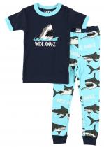Wide Awake Shark - dětská pyžama LazyOne