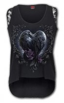 Raven Heart - Skater Vest - Spiral