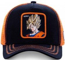 Goku Profile Orange Dragon Ball - Czapka Capslab
