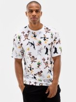 Crew All Pattern - Looney Tunes