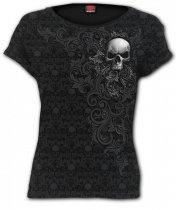 Skull Scroll - Spiral - Damska
