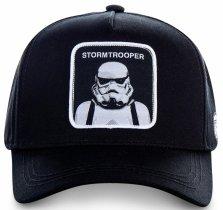 Stormtrooper Black Star Wars - Czapka z daszkiem Capslab