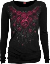 Blood Rose - Baggy Top Spiral - Damska