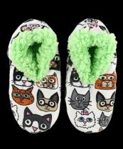 Catittude Fuzzy Feet - Papcie - LazyOne