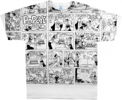 Popeye Comic - Liquid Blue