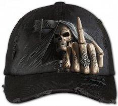 Bone Finger - Baseball Cap - Spiral