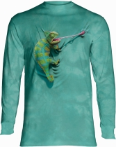 Climbing Chamelion - Long Sleeve The Mountain