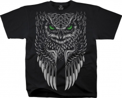 Owl Black - Liquid Blue