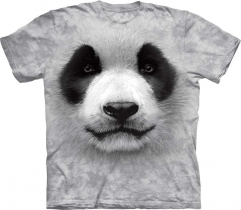 Big Face Panda - T-shirt The Mountain