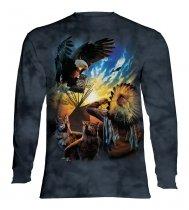Eagle Prayer - Long Sleeve The Mountain