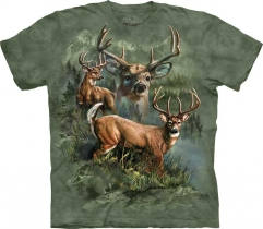 Deer Collage - The Mountain