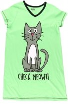 Check Meowt Nightshirt - Koszula Nocna - LazyOne
