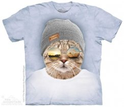 Cool Hipster Cat - The Mountain