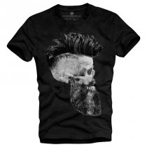 Skull with a beard Black - Underworld