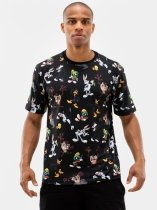 Crew All Pattern Black - Looney Tunes
