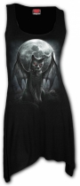 Vamp Cat - Camisole Dress Spiral