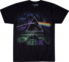 Pink Floyd Dark Side Poster - Liquid Blue