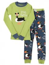 Stud Puffin - Piżama Dziecięca Długi rękaw - LazyOne
