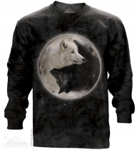 Yin Yang Wolves - Long Sleeve The Mountain