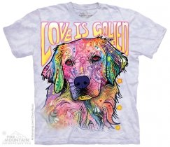 Love is Golden - T-shirt The Mountain