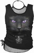 Black Cat - 2in1 Mesh Top Spiral - Damska