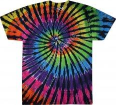 Rainbow Spiral Streak - Liquid Blue
