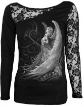 Captive Spirits - Lace One Shoulder Spiral - Damska
