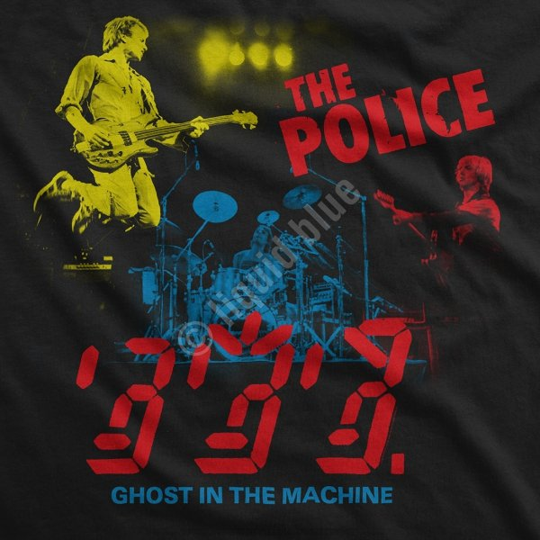 The Police In Concert - Liquid Blue