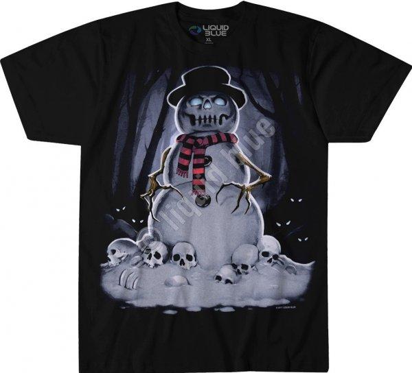 Snowman - Liquid Blue