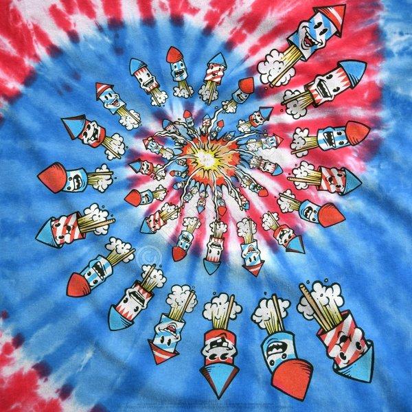 Americana Fireworks - Liquid Blue