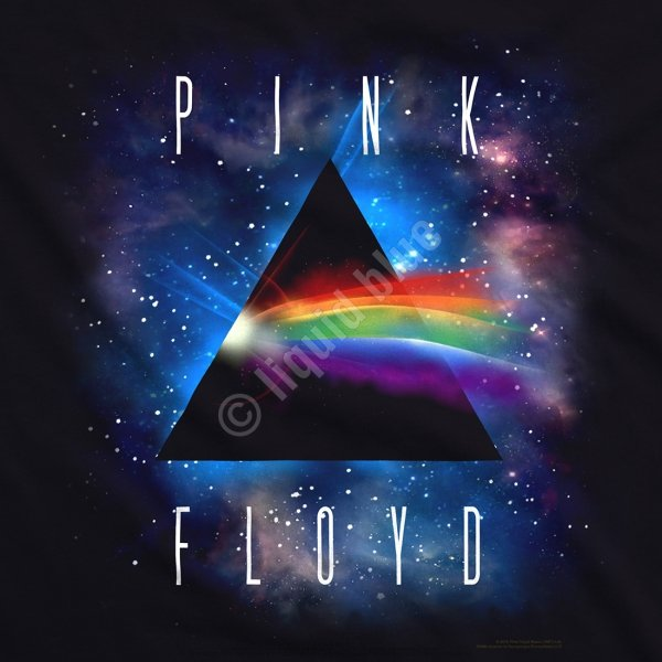 Pink Floyd Dark Side Space - Liquid Blue