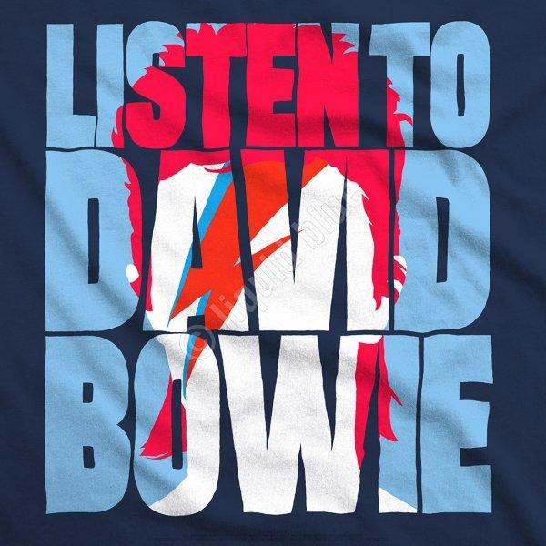 David Bowie - Listen to Bowie - Liquid Blue