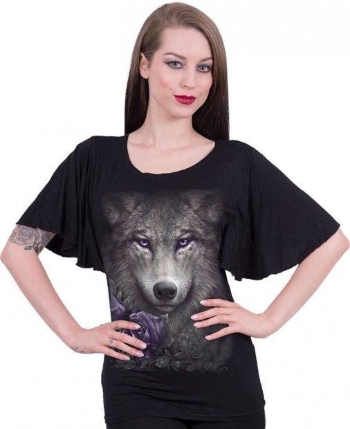 Wolf Roses Bat - Spiral – Ladies