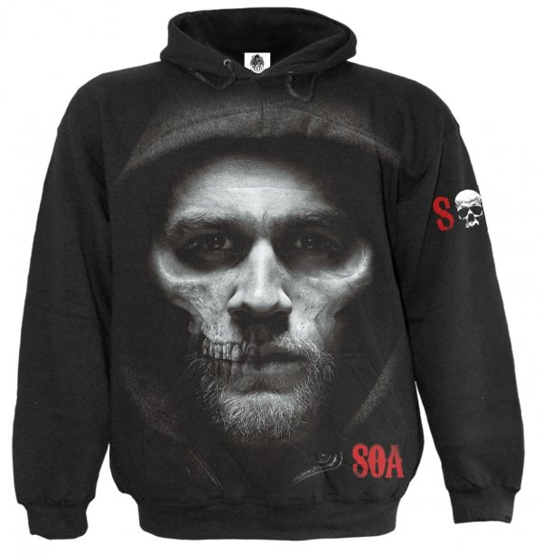 Jax Skull - Sons of Anarchy - Mikina - Spiral