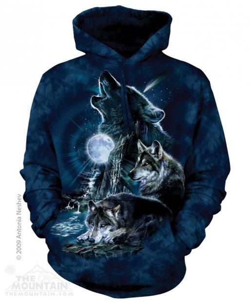 Bark at the Moon - Mikina The Mountain