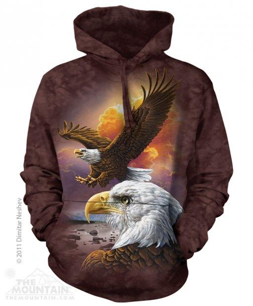 Eagle & Clouds - Mikina The Mountain