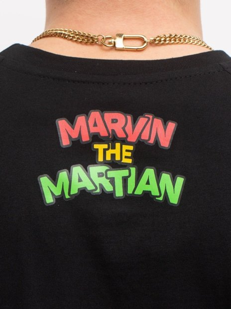 Marvin Martian Pattern Longsleeve  - Looney Tunes