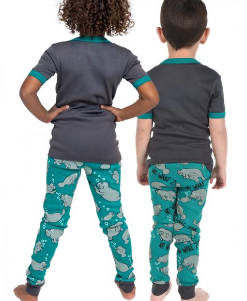 No Wake Zone Manatee - dětská pyžama LazyOne